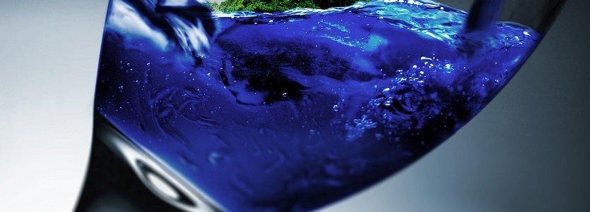 O incrível Vinho Azul