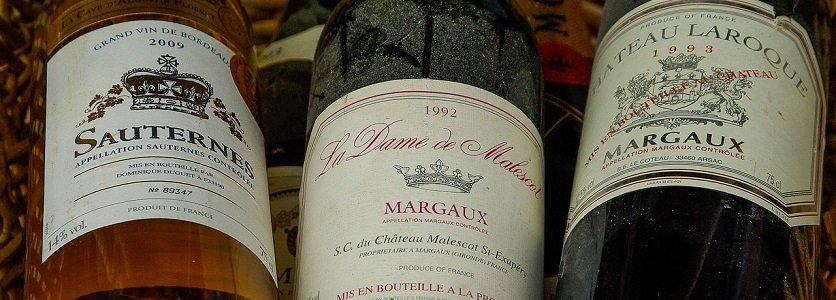 O tão famoso e adorado vinho Bordeaux