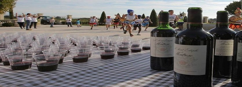 Conheça a maratona que serve vinho e queijo aos atletas durante o percurso